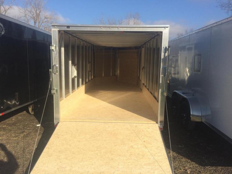 Sport Haven 3 Place Drive on Drive off  Snowmobile Trailer