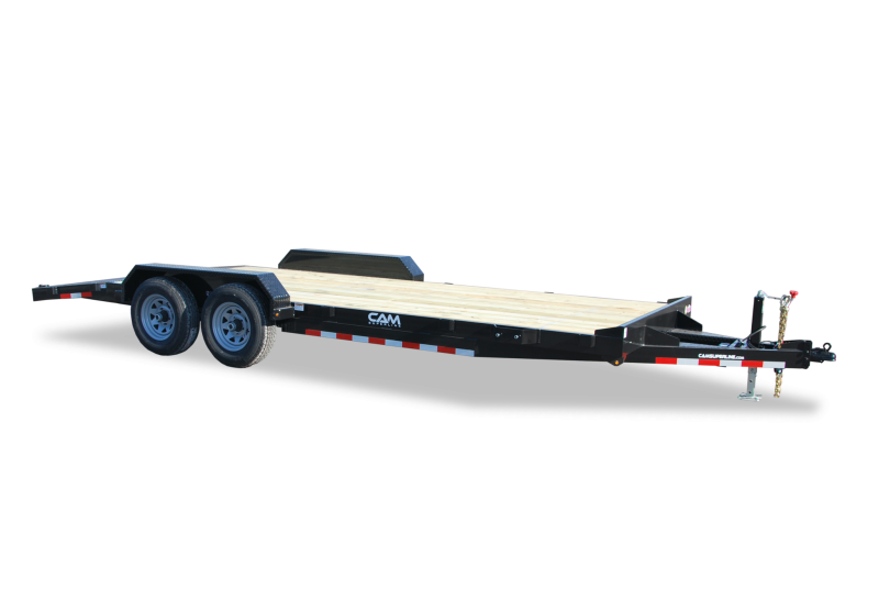 CAM Superline 7x18 Wood Deck 10K Car Hauler