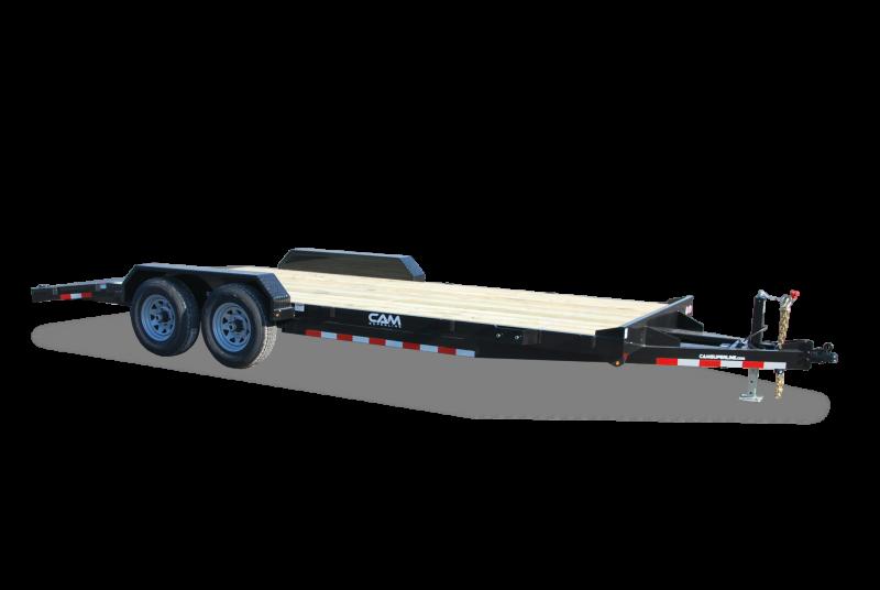CAM Superline 7x18 Wood Deck 10K Car Hauler