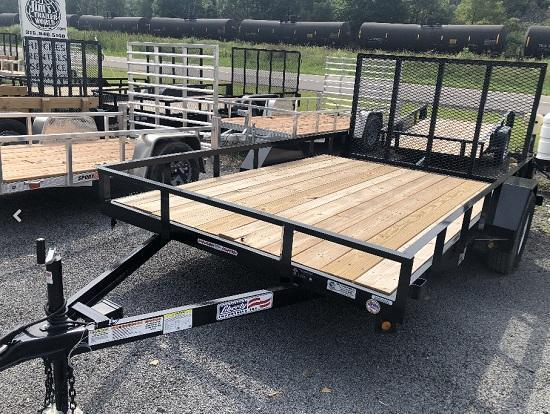 Liberty 83 in. x 14 Channel Landscape 5200 LBS Utility Trailer