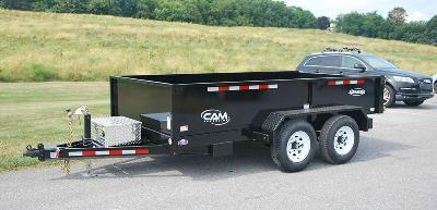 CAM Advantage 6 x 10 Series Dump Trailers 8K