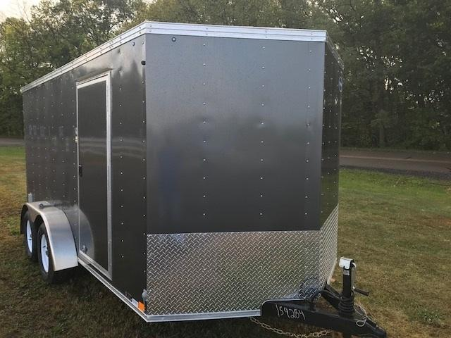 United Trailers XLV712TA Enclosed Cargo Trailer w/ Ramp Door