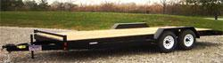 Liberty 7x18 Channel Car Hauler 10K