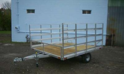 Blizzard Aluminum ATV Trailer