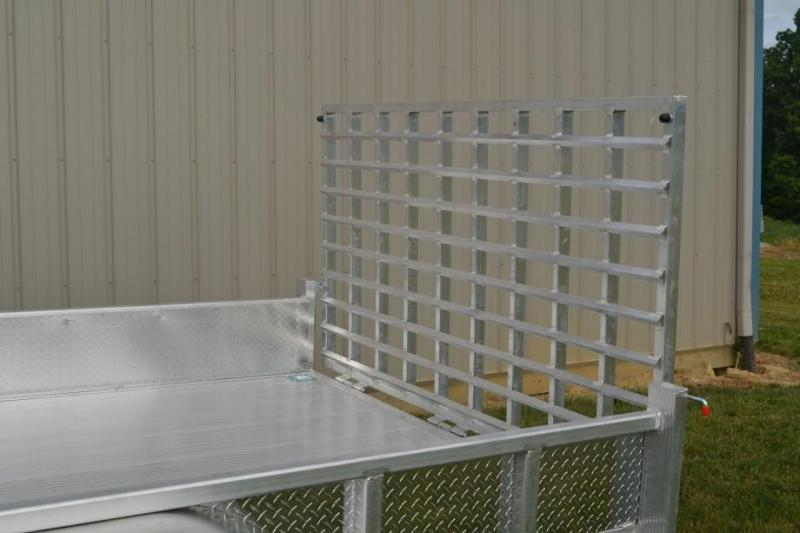 Sport Haven 6x12 Utility Trailer w/ Aluminum Deck & Sides
