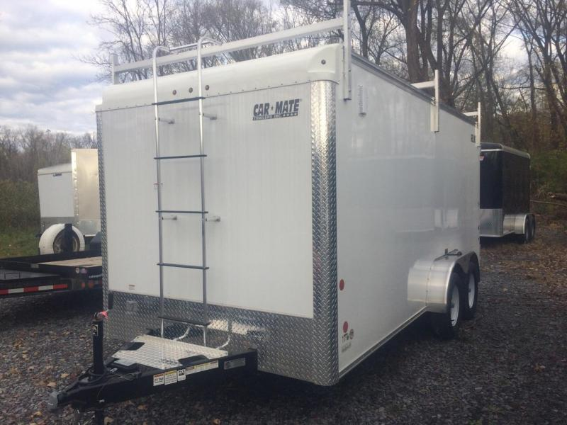Car Mate 7x16 Custom Cargo Contractor Series w Barn Door