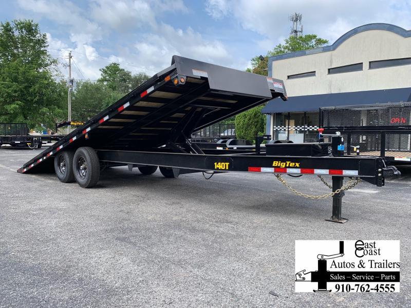 Big Tex Trailers 14OT 22' Over-The-Axle Full Tilt Equipment Trailer with 14K GVMR