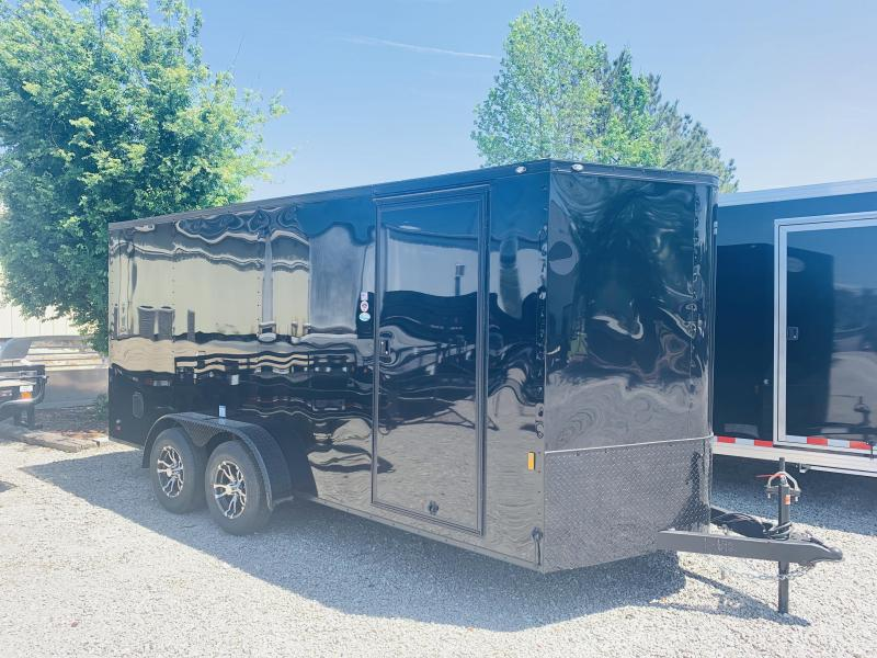 2020 Forest River 7X14 BLACKOUT Enclosed Cargo Trailer