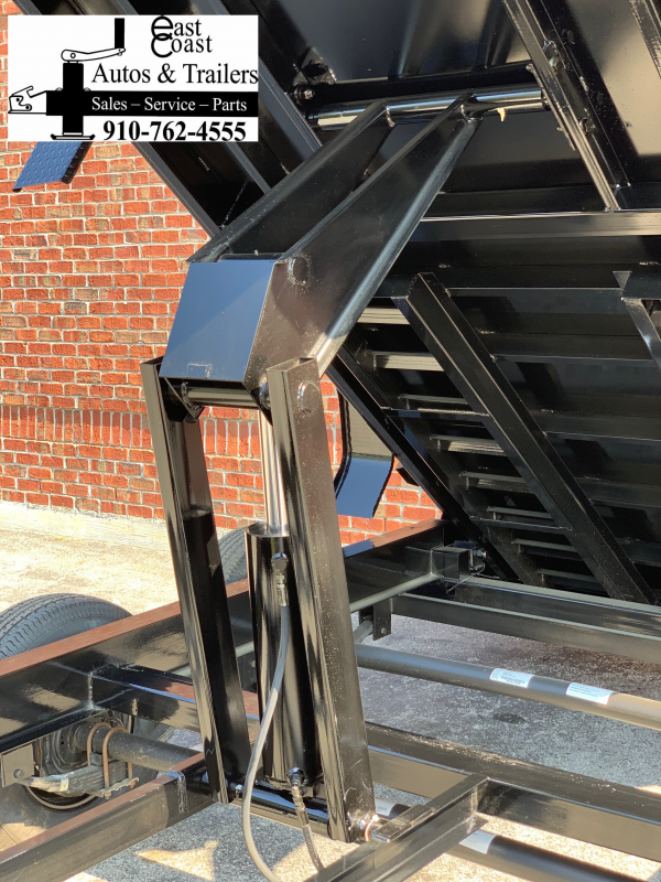 Big Tex 14LP (7' X 16') Low Profile Dump Trailer
