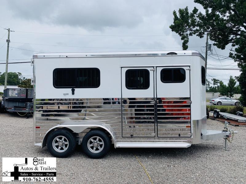 2020 Sundowner Trailers Charter SE 2 Horse Straight load Livestock Trailer