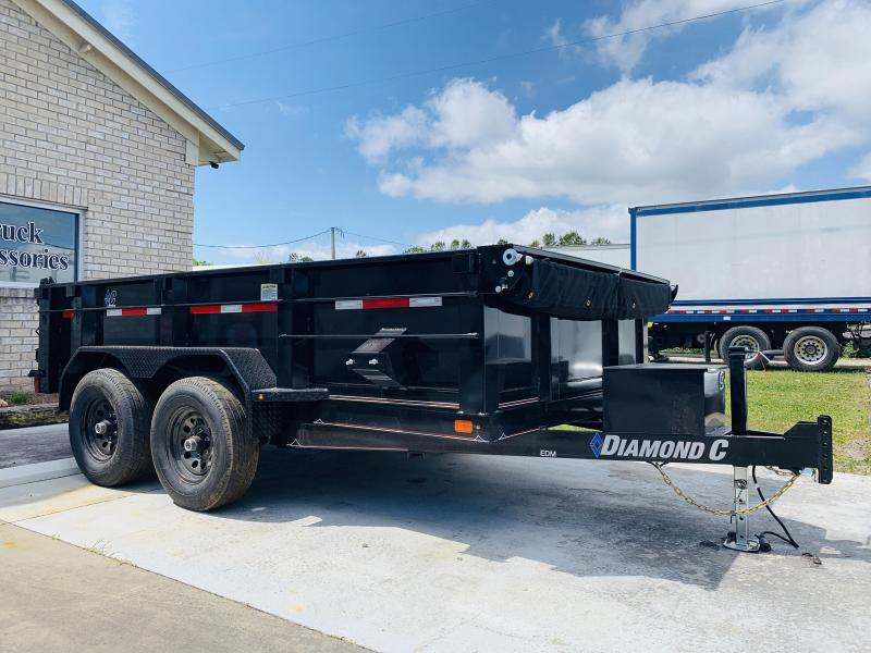 Diamond C Trailers EDM (7' X 12')  Dump Trailer with 9990 GVWR
