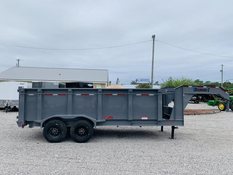 2020 Diamond C Trailers LPT210 Dump Trailer
