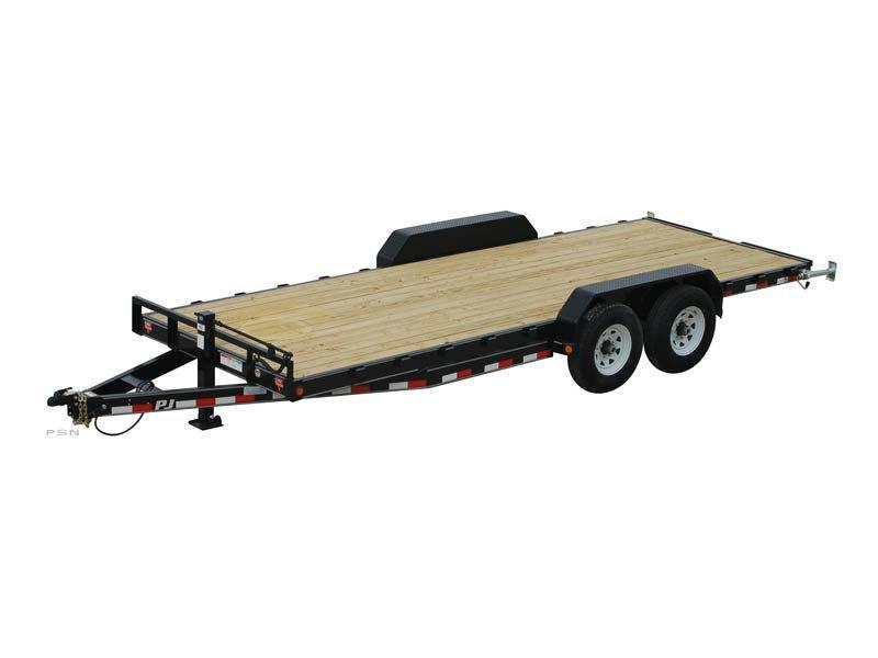 PJ Trailers CC202 20' Equipment Trailer 14K GVWR
