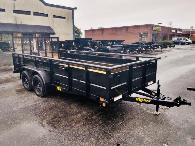 2020 Big Tex Trailers 70TV-16' Utility Trailer