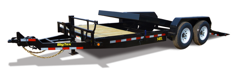 Big Tex 14TL - 22' HD 3/4 Tilt Trailer with 14K GVWR
