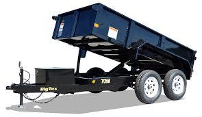 Big Tex 70SR (5' x 10') Dump Trailer with 7K GVWR