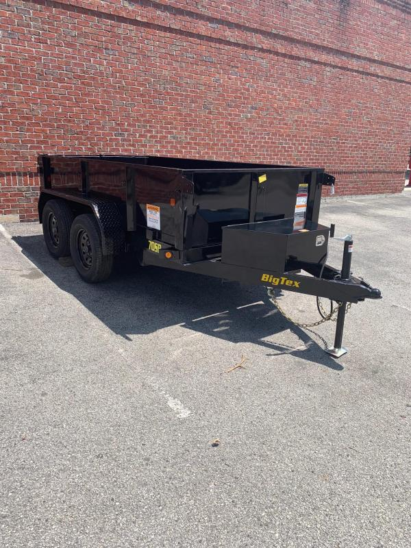 Big Tex 70SR (5' x 10') Dump Trailer with 7K GVWR