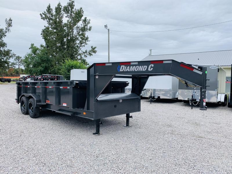 2020 Diamond C Trailers LPT208 Dump Trailer