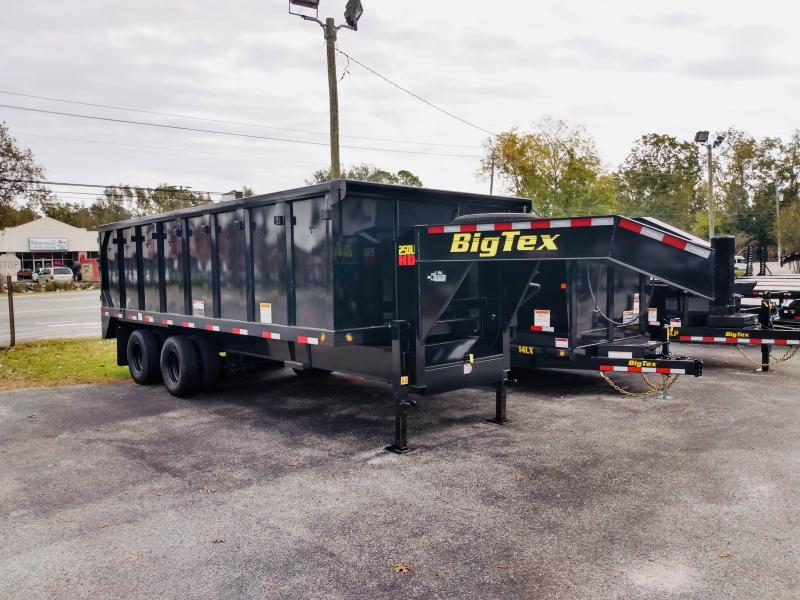Big Tex Trailers 20' Gooseneck Dump Trailer with 25900 GVWR