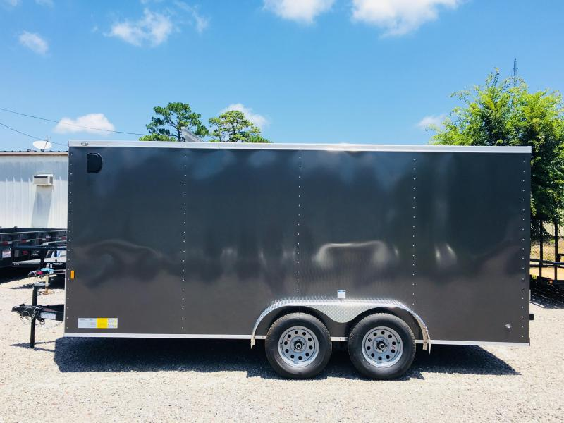 2020 Forest River 7X14 Enclosed Cargo Trailer