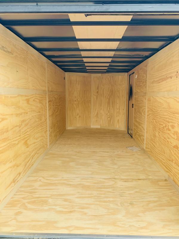 7x16 Blackout Cargo Trailer