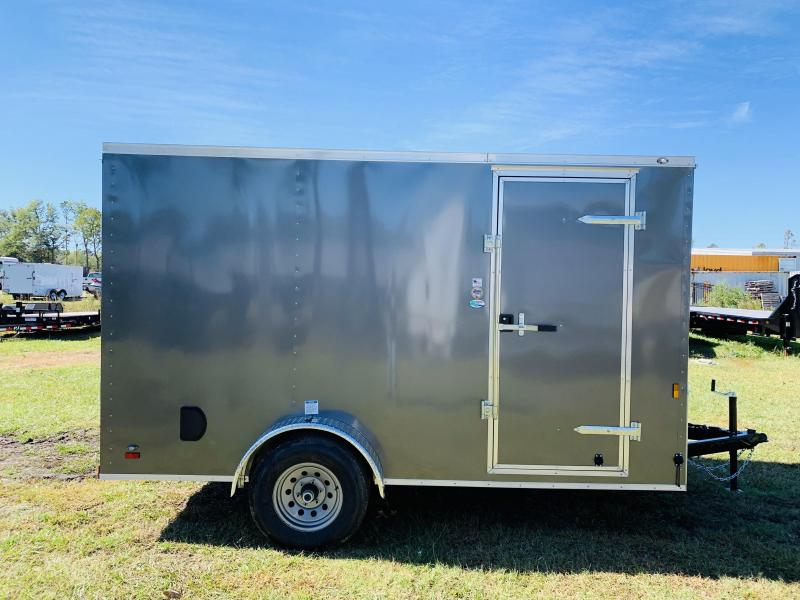 2020 Forest River 7X12 5K Enclosed Cargo Trailer