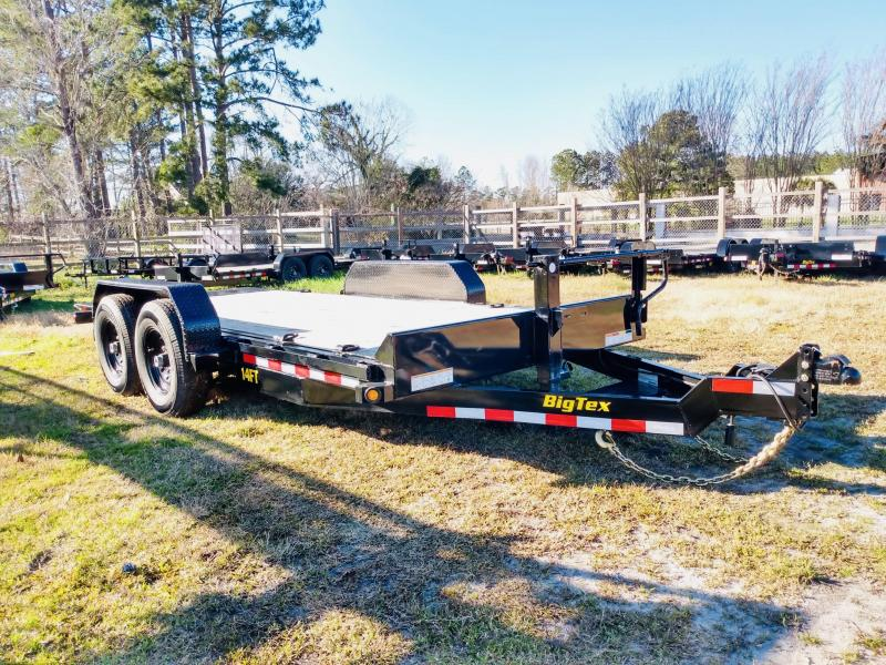Big Tex Trailers 14FT 16' Full Tilt Equipment Trailer with 14K GVWR