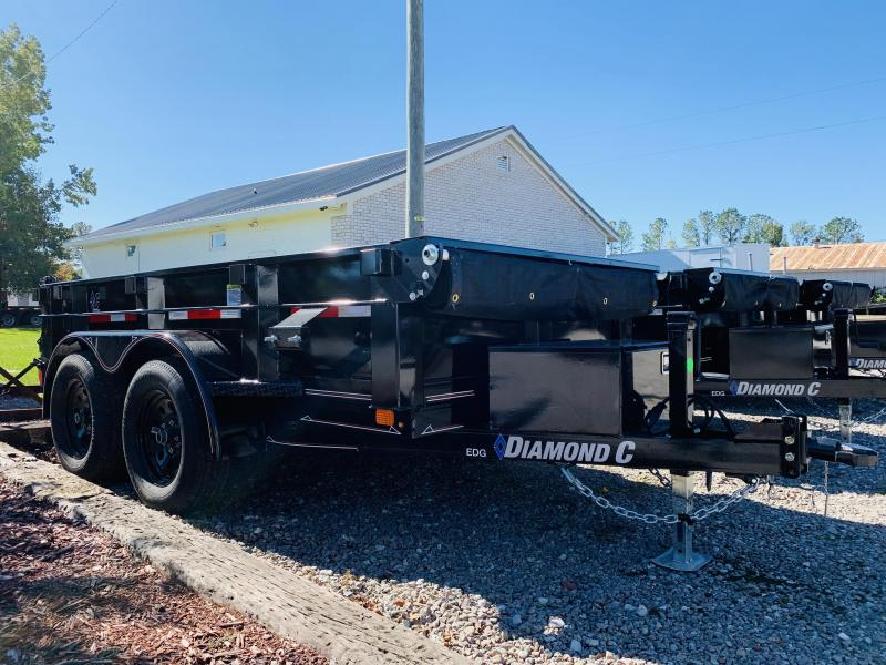 2020 Diamond C Trailers EDG253 5X10 Dump Trailer