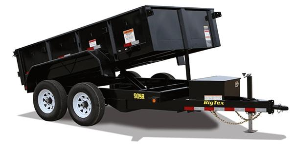 Big Tex Trailers 90SR (6' X 10') Dump Trailer with 9990 GVWR
