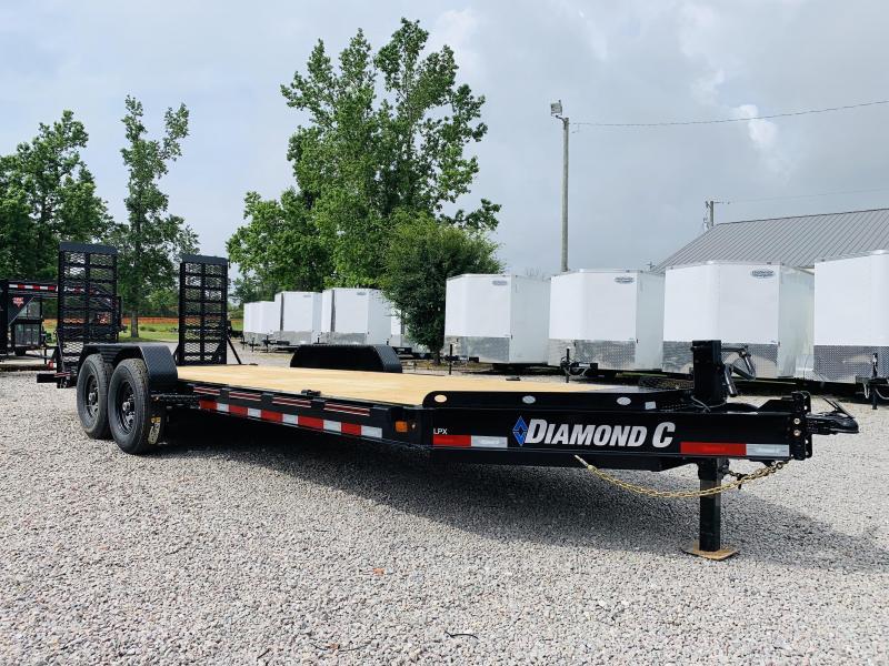 2020 Diamond C Trailers LPX 20' Equipment Trailer