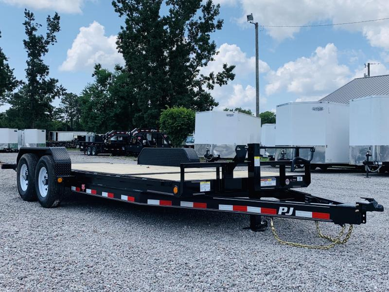2020 PJ Trailers PJ T6 22' Equipment Trailer