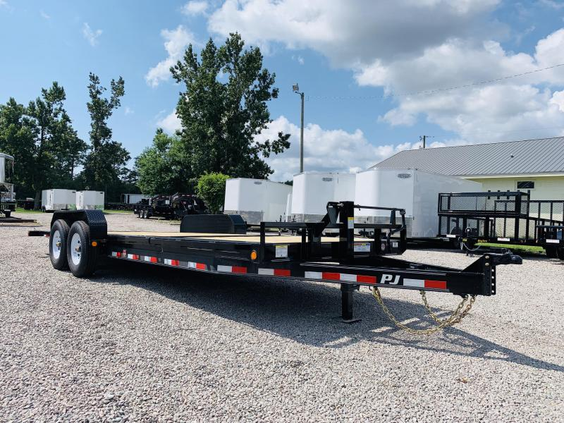 2020 PJ Trailers PJ TJ 22' Equipment Trailer