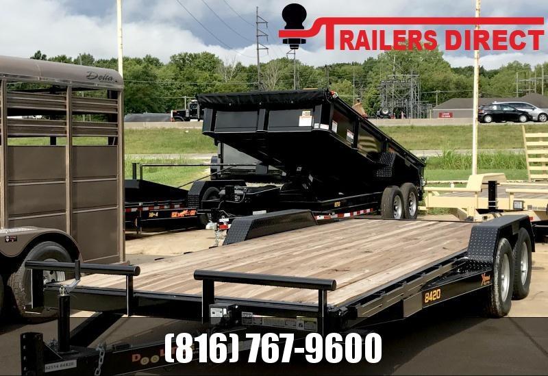 2020 Doolittle Trailer Mfg 84 X 20 Equipment Trailer