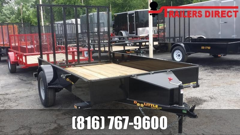 2020 Doolittle 77 x 10 Utility Trailer