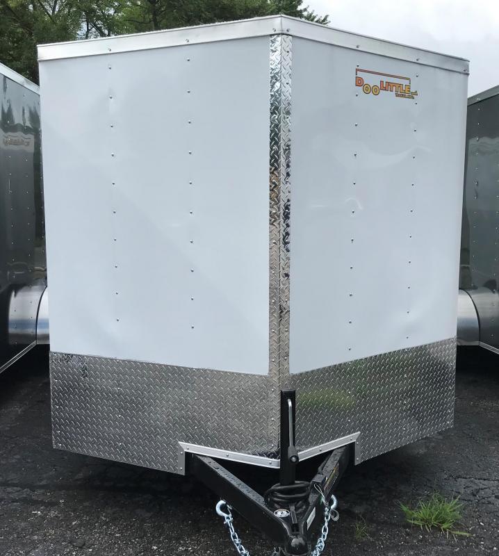 2019 Doolittle Trailer Mfg 7 X 14 Enclosed Cargo Trailer