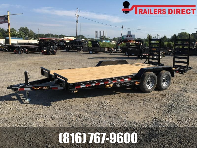 2020 Doolittle Trailer Mfg 84 x 18 XT Equipment Trailer