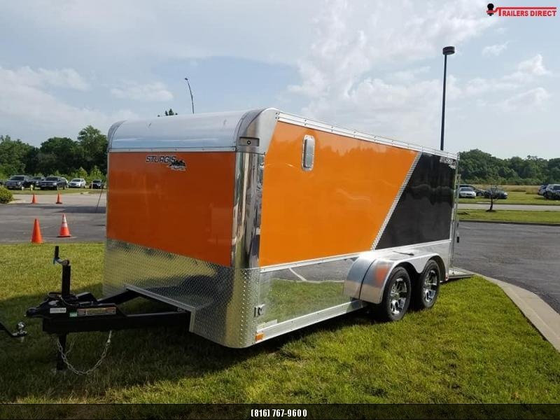 2019 DooLitttle Trailers 7 X 14 Sturgis Limited Package Enclosed Cargo Trailer