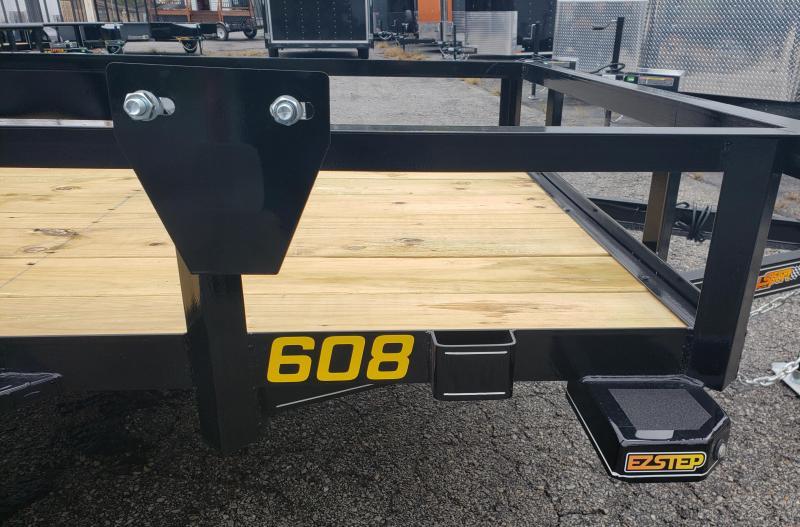 2020 Doolittle Trailer Mfg 60 X 8 Utility Trailer