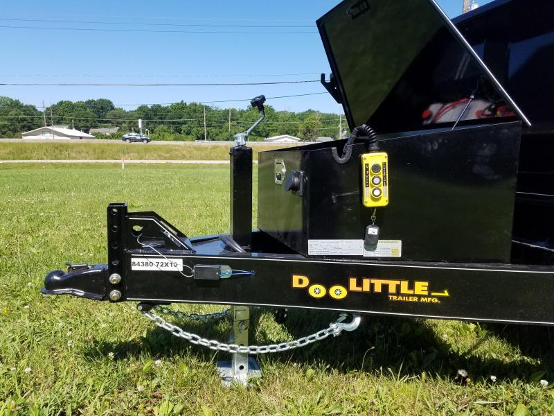 2019 Doolittle Trailer Mfg 72 x 10 Dump Trailer