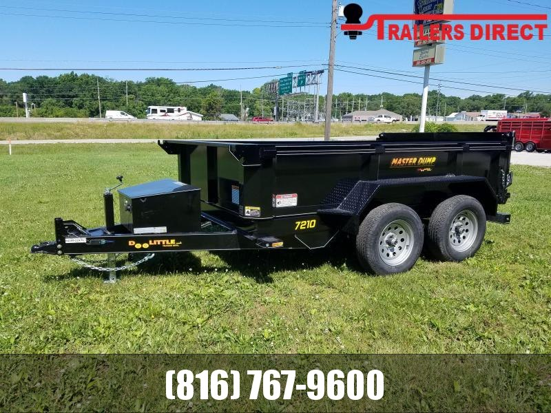 2019 Doolittle Trailer Mfg 72 x 10 Dump Trailer