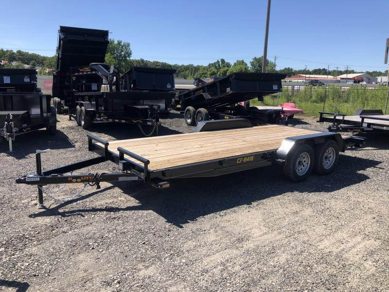 2020 Doolittle Trailer Mfg 84 x 18 Equipment Trailer