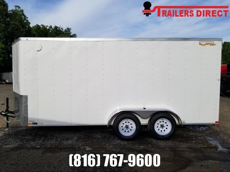 2020 Doolittle Trailer Mfg 7 X 16 Enclosed Cargo Trailer