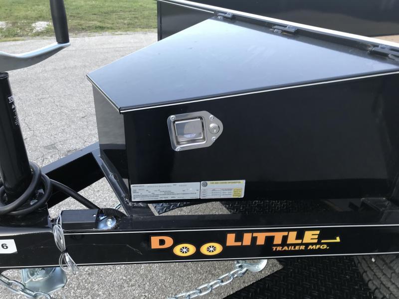 2019 Doolittle 77 X 16 SS Utility Trailer