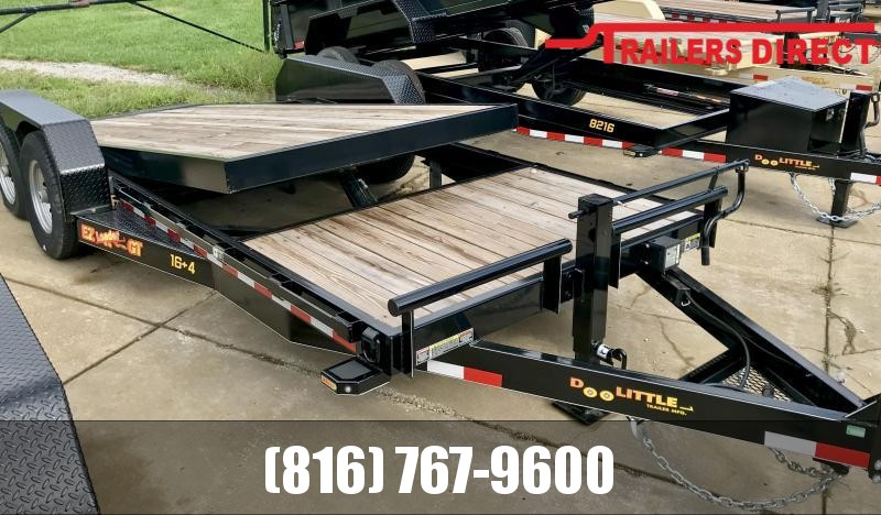 2019 Doolittle Trailer Mfg 82 x 20 EZ LOADER Equipment Trailer