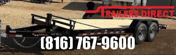 2019 Doolittle Trailer Mfg 82 X 18 GT Equipment Trailer
