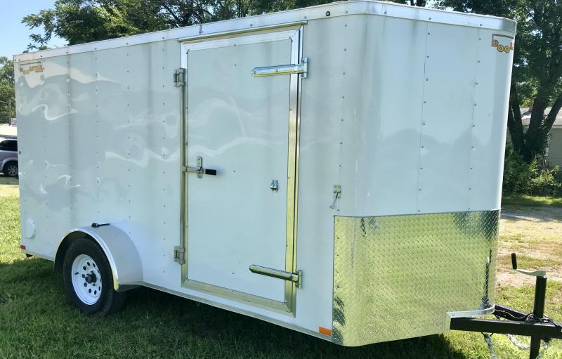 2020 Doolittle Trailer Mfg 6 X 12 Enclosed Cargo Trailer