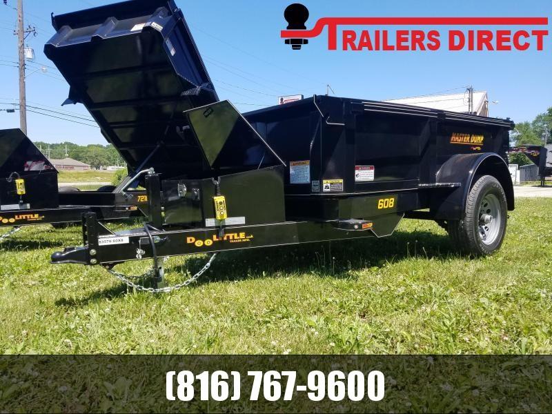 2020 Doolittle Trailer Mfg 60 x 8 Dump Trailer