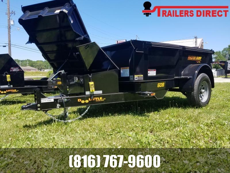 2020 Doolittle Trailer Mfg 60 x 8 Dump Trailer