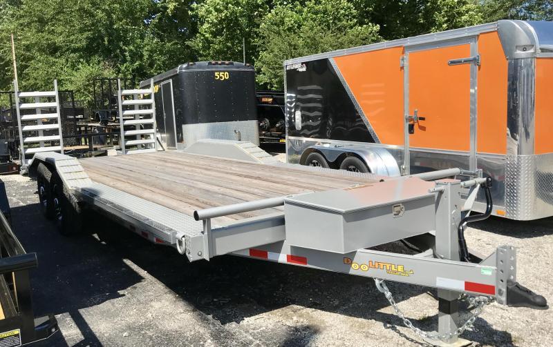2019 Doolittle Trailer Mfg 82 X 22 METALLIC SILVER Equipment Trailer