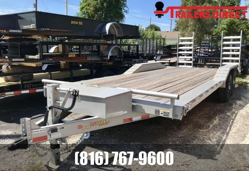 2019 Doolittle  82 X 22 Equipment Trailer